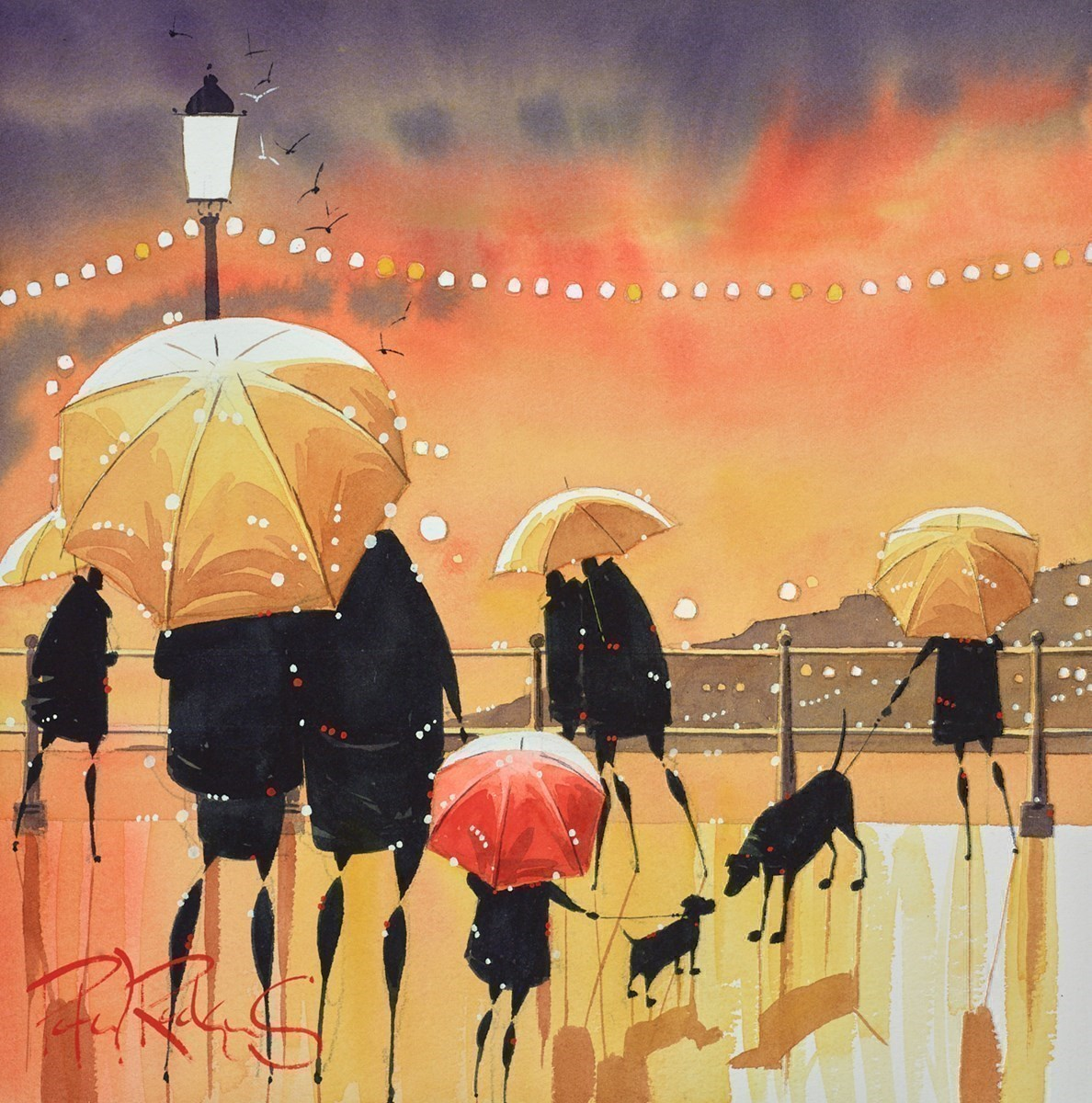 Check Out by Peter J Rodgers -  sized 12x12 inches. Available from Whitewall Galleries